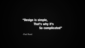 Design is Simple by NocteDesign