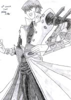Seto Kaiba by Erkillers