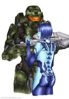 Cortana and the Chief by Echo1034