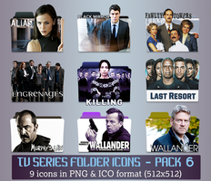 TV Series - Icon Pack 6 by apollojr