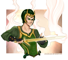 Loki - Agent of Asgard by Coloralecante