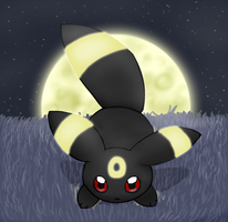 Umbreon Chibified by pichu90