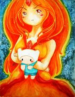 Flame Princess by dollicandy