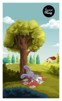 The bunny rest by hitomi--i
