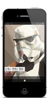 Lockscreen Stormtrooper by Laugend