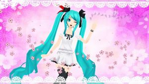 Miku Hatsune ~ World Is Mine by Pincky-Chan