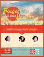 Forget Not All Your Benefits Church Flyer Template by loswl