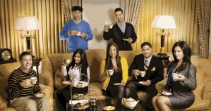 Jersey Shore Cast by lrn-buckley