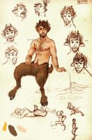 Danios the Satyr by Sharsarannon