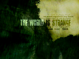 The World Is Strange by carnemire