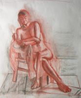 Life Drawing XXII by KerrithJohnson