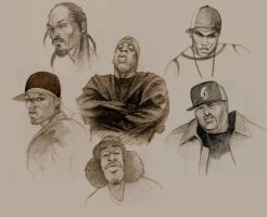 rappers by Nabilski
