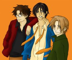 Jame Sirius and Remus by mission1rwh