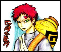 .::Gaara of the Sand::. by ahou