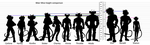 BMFM Height comparison by MayaPatch