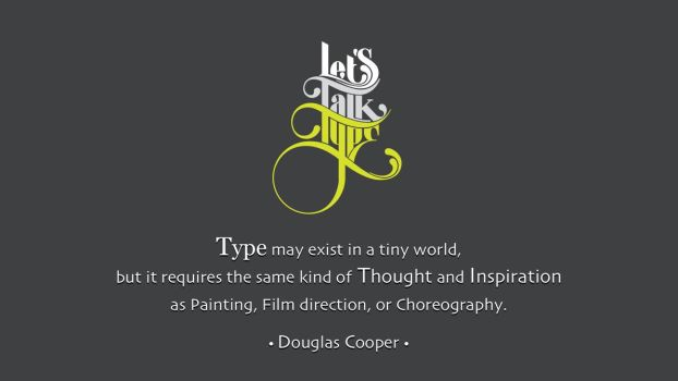 Douglas Cooper Quote by RSeer