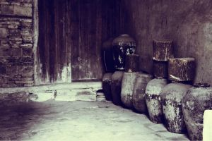 Old Pots by SF224