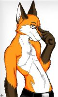 Sexy Fox colored by arcticfoxie