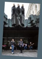 Street Music Day: Five Muses by Helkathon