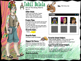 MH BIO: Tabil Bulala by SpicePrincess