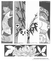 Bookmark designs 2012 by DawnstarW