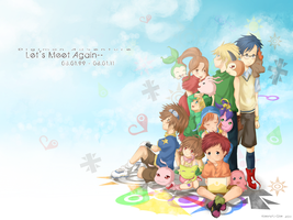 Digimon - 12th Anniversary by Kanlamari