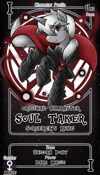 [Commission] Soul Taker by vavacung