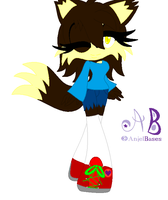 .:Nara The Hedgewolf:. by shadamylover56