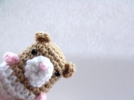 Harley the Amigurumi Hamster by Jessielloyd