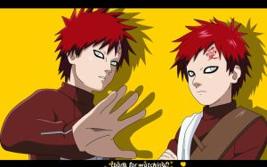 gaara 13 and 15 by windy-lie
