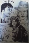 The Mighty Boosh signed by westleyjsmith