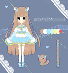 [ADOPTS] Mellodii Clarinet Cat #1 - CLOSED by Aeuri