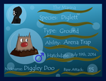 PKMNation: Diggley Doo by OtaPotato
