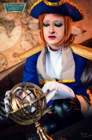 Treasure Planet - Captain Amelia Cosplay III by Hanuro-Sakura