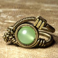 steampunk jewelry P by CatherinetteRings