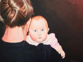 Baby Uschi by jfkpaint