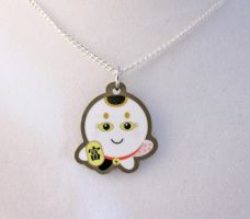 Maneki Octo Necklace by egyptianruin