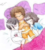 .:Three babies are sleeping:. by MrsCute-chan