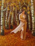 Among the Birch Trees by thienbao