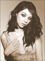 michelle trachtenberg by painfullyxuncool