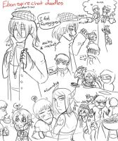 Ebon Chatroom Doodles by Kaida-