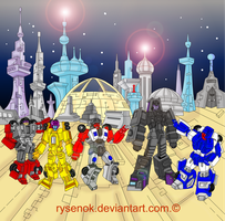 Stunticons are unarmed by rysenok