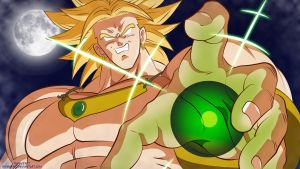 Broly - The Legendary Super Saiyan by Bionic2307