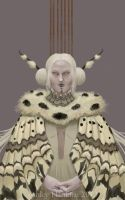 The Moth Queen by clockwork-madness