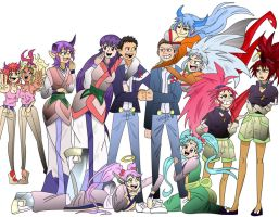 Commission - Demon Worlds Finest x Tenchi Muyo! by HolderofTruth