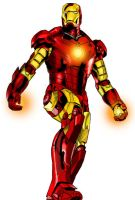 Iron Man plain by megallicor