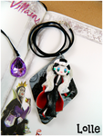 Villains Crudelia FANART CLAY Necklace by LolleBijoux