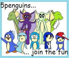 5penguins AND Dragon Squad by 5penguins