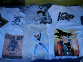 My T-Shirts by foxmulder666