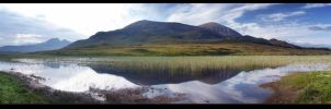 Loch Cill Chriosd Panorama by kihsleek